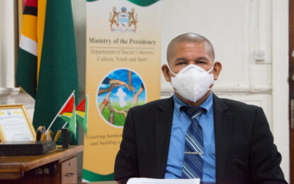 Renewal of Arts Scheme seeks to boost Guyanese spirits