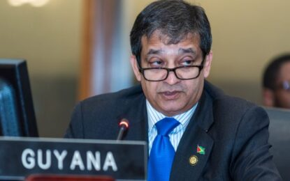 Guyana is a democratic nation and intends to remain so -Dr Riyad Insanally.