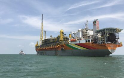 Guyana's second million barrel of crude lifted