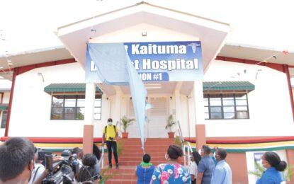 Long awaited $959M Port Kaituma Hospital commissioned
