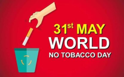 Youths targetted for World No Tobacco Day 2020
