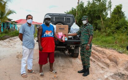 CDC provides relief to flood-hit Coomacka residents