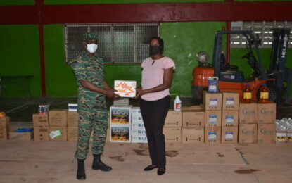 CDC donates food, sanitation items to MoPH Elderly Unit