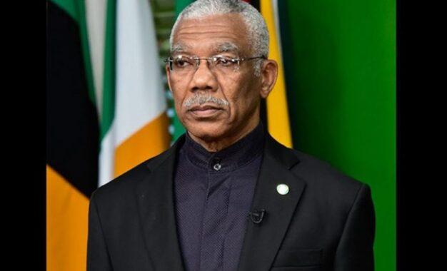 The matter goes back to the GECOM- President Granger