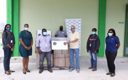 COURTS donates 'Aeroboxes' to frontline workers attending COVID-19 patients