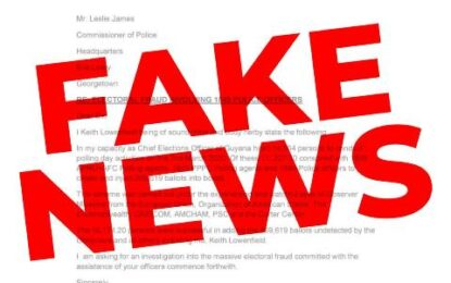 Circulation of Fake Letter on Social Media purportedly signed by Chief Election Officer