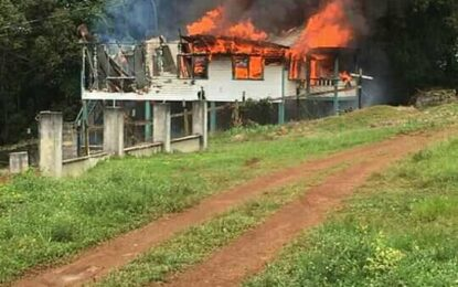 Investigation launched into Mabaruma Doctor's quarters' fire