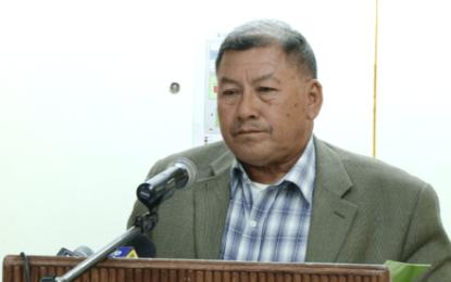 Min. Allicock condemns arson attempt on Umana Yana