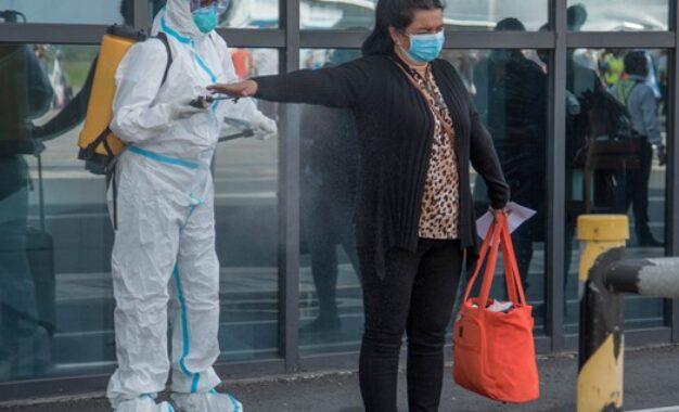 142 returned on first repatriation flight from Canada