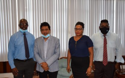 AG Nandlall meets with FIU staff