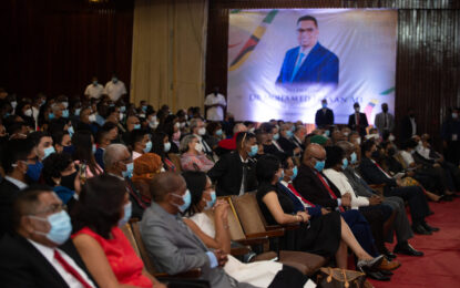 Inauguration Ceremony for Guyana's 9th Executive President