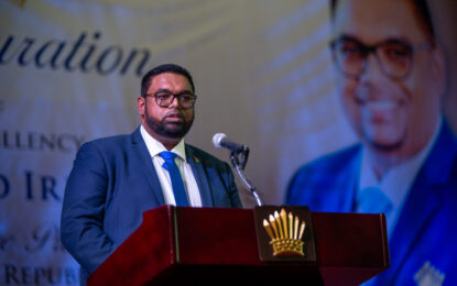 Inauguration Address of H.E. Dr. Irfan Ali