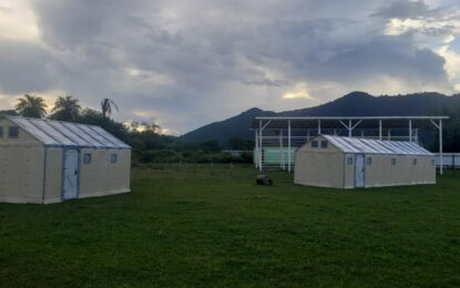 UNHCR pre-manufactured housing units to boost COVID-19 quarantine and isolation capacity across the administrative regions in full operations.