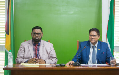 Guyana and Suriname recommit to continued development