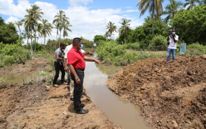 Gov't working assiduously to aid flood-affected Reg. 6 communities